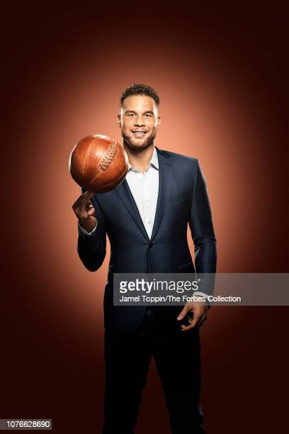 Basketball player Blake Griffin is photographed for Forbes Magazine on October 8, 2018 in New York City. COVER IMAGE. CREDIT MUST READ: Jamel...