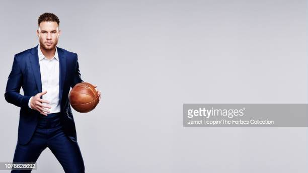 Basketball player Blake Griffin is photographed for Forbes Magazine on October 8, 2018 in New York City. PUBLISHED IMAGE. CREDIT MUST READ: Jamel...