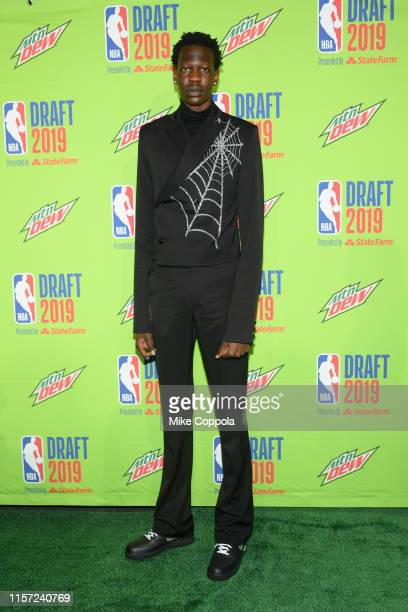 Basketball player Bol Bol attends the 2019 NBA Draft at Barclays Center on June 20 2019 in New York City