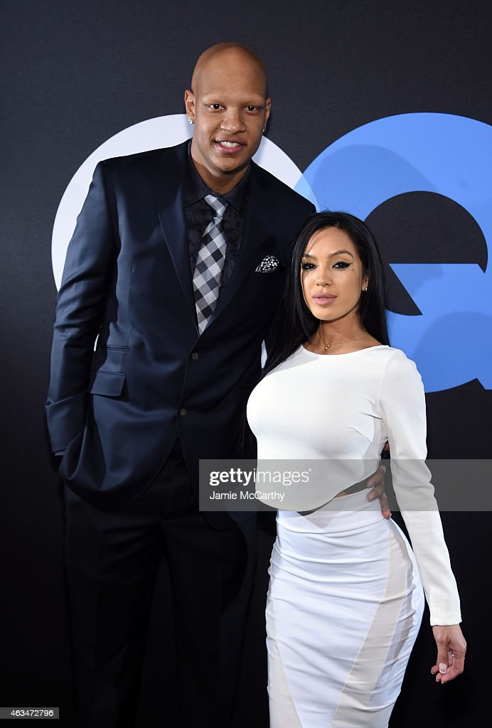 Basketball Player Charlie Villanueva And Michelle Game Attend Gq And News Photo Getty Images