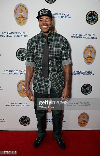 Basketball player Corey Maggette attends Los Angeles Police Memorial Foundation's Celebrity Poker Tournament at Saban Theatre on April 27 2013 in...
