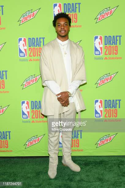 Basketball player Darius Garland attends the 2019 NBA Draft at Barclays Center on June 20 2019 in New York City