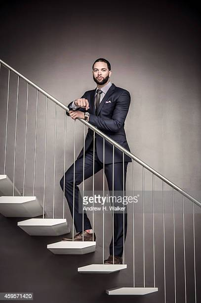 Basketball player Deron Williams is photographed for Resident Magazine on July 15 2014 in New York City