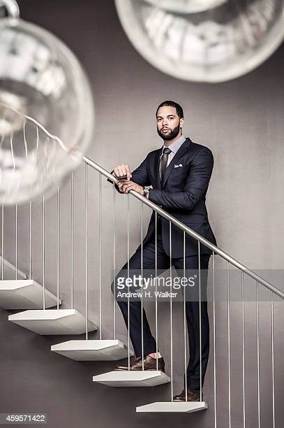 Basketball player Deron Williams is photographed for Resident Magazine on July 15 2014 in New York City PUBLISHED IMAGE
