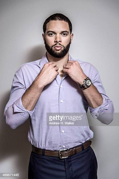 Basketball player Deron Williams is photographed for Resident Magazine on July 15 2014 in New York City COVER IMAGE