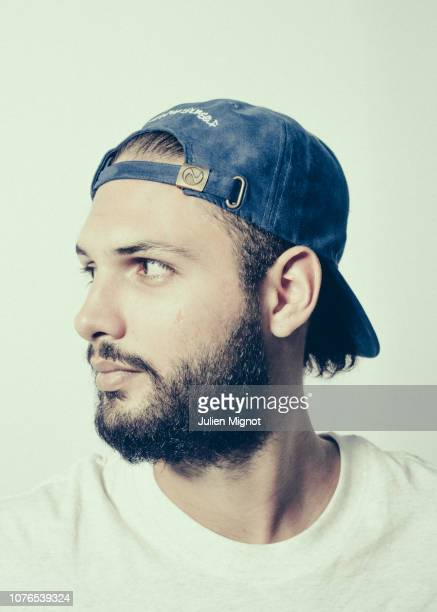 Basketball player Evan Fournier poses for a portrait on August 2017 in Paris France