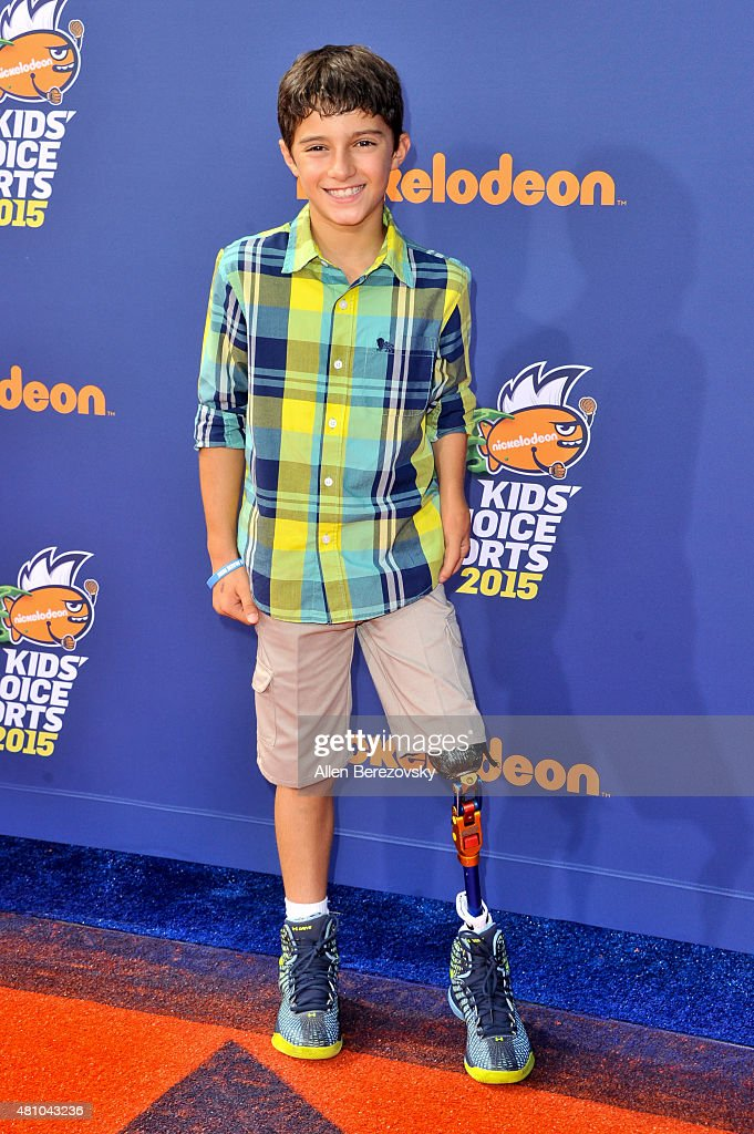Nickelodeon Kids' Choice Sports Awards 2015 - Arrivals : News Photo