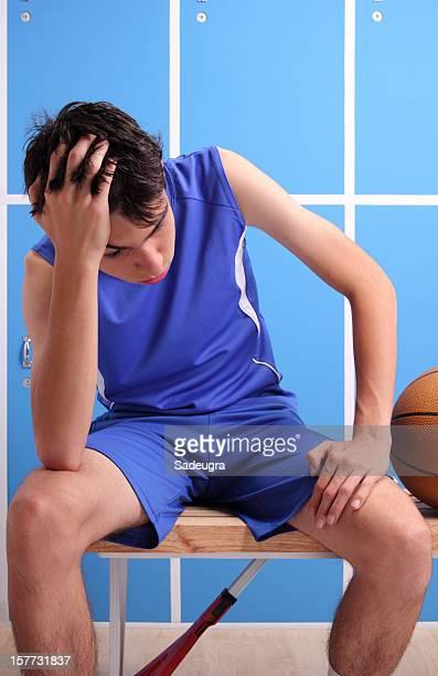 Basketball Player Feeling Bad