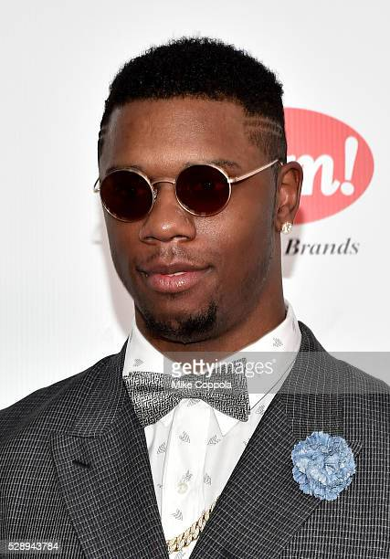 Basketball player for the Houston Rockets of the NBA Terrence Jones attends the 142nd Kentucky Derby at Churchill Downs on May 07 2016 in Louisville...