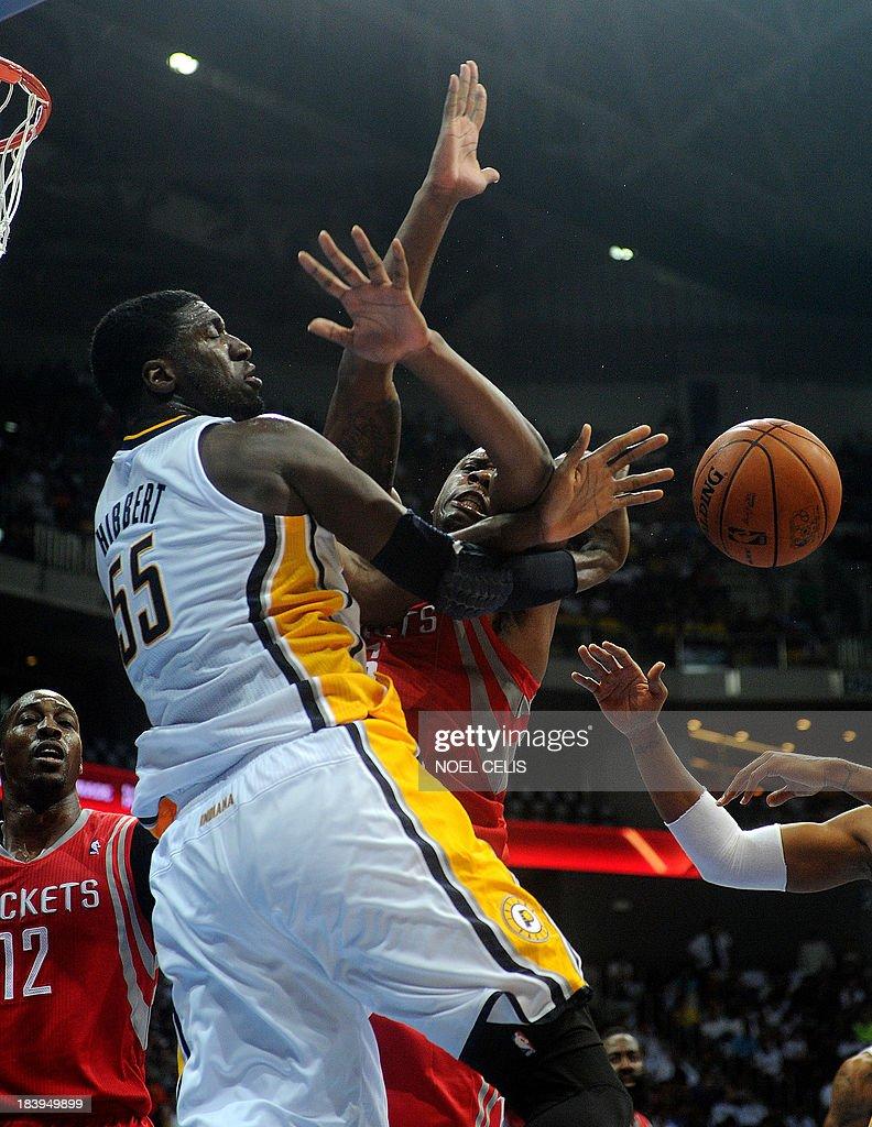 BASKET-PHI-US-NBA-ROCKETS-PACERS : News Photo
