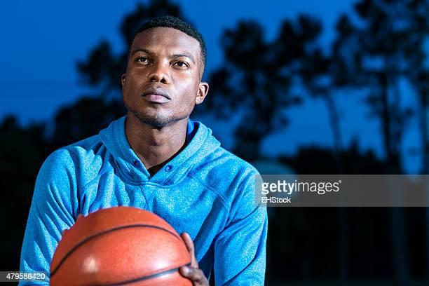 Basketball Player Free Throw