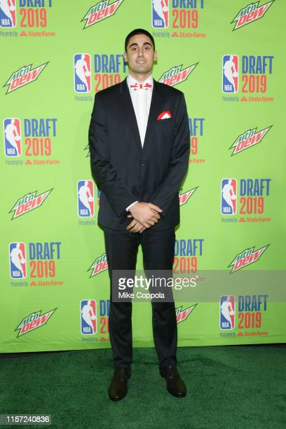 Basketball player Goga Bitadze attends the 2019 NBA Draft at Barclays Center on June 20 2019 in New York City