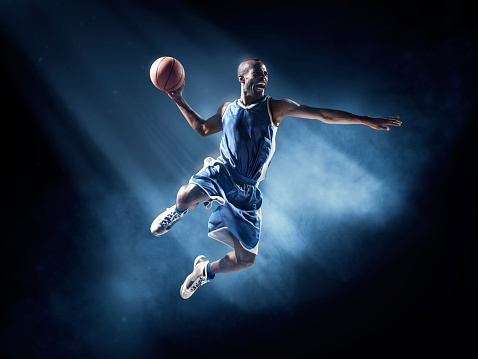 Basketball player in jump shot - gettyimageskorea