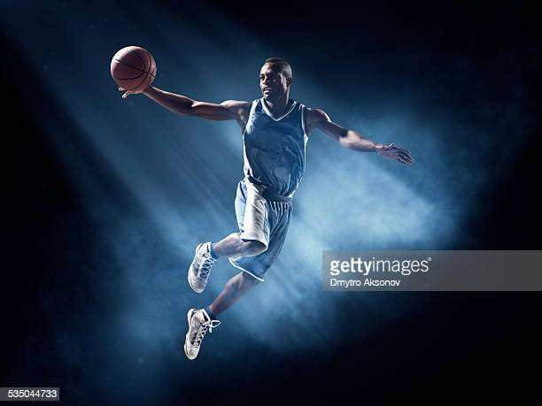 basketball player in jump shot - professional sportsperson stock pictures, royalty-free photos & images
