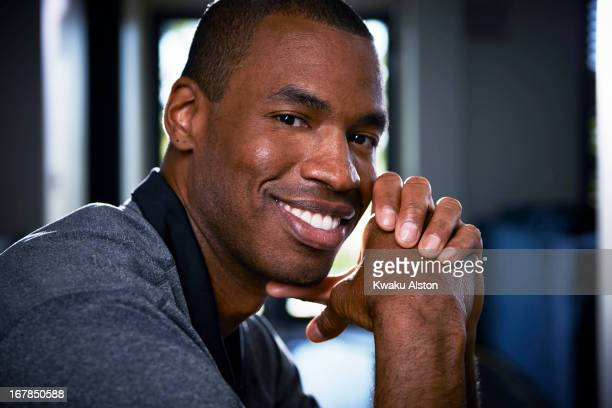 Basketball player Jason Collins is photographed for Sports Illustrated on April 25, 2013 in Los Angeles, California. CREDIT MUST READ: Kwaku...