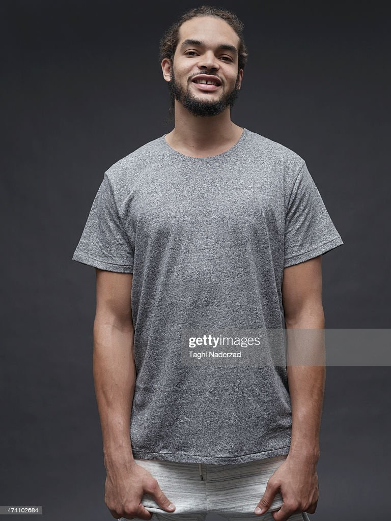 Basketball player Joakim Noah is photographed for Maxim Magazine on August 18, 2014 in New York City.
