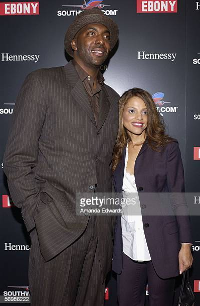 Basketball player John Salley arrives at the 2nd Annual EBONY Oscar Celebration at the Henson Studios on March 2, 2006 in Hollywood, California. The...