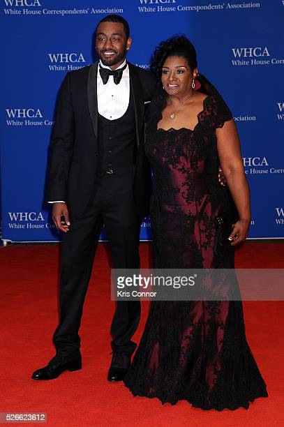 Basketball player John Wall and Frances Pulley attend the 102nd White House Correspondents' Association Dinner on April 30 2016 in Washington DC