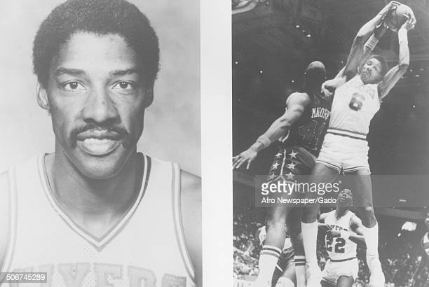 Basketball player Julius Erving 1985