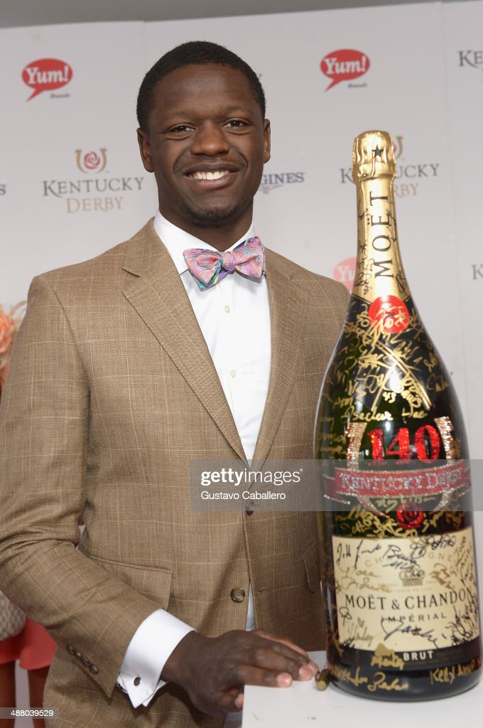 Moet & Chandon Toasts The 140th Kentucky Derby : News Photo