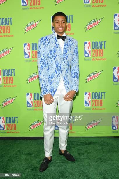 Basketball player Keldon Johnson attends the 2019 NBA Draft at Barclays Center on June 20 2019 in New York City