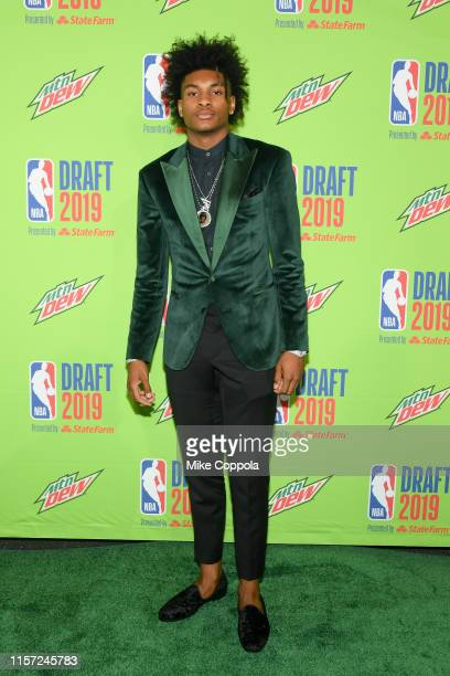 Basketball player Kevin Porter Jr attends the 2019 NBA Draft at Barclays Center on June 20 2019 in New York City
