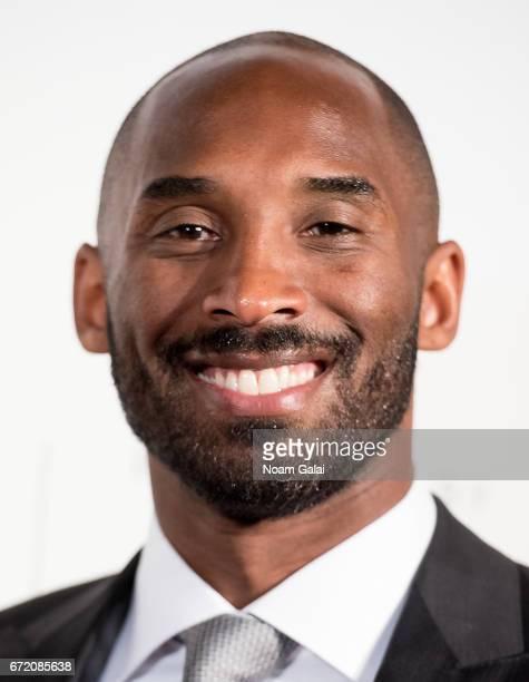 Basketball player Kobe Bryant attends Tribeca Talks Storytellers Kobe Bryant with Glen Keane during 2017 Tribeca Film Festival at BMCC Tribeca PAC on...