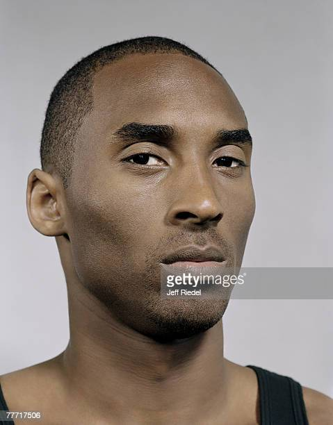 Basketball player Kobe Bryant is photographed for ESPN Magazine in 2005 in Los Angeles California