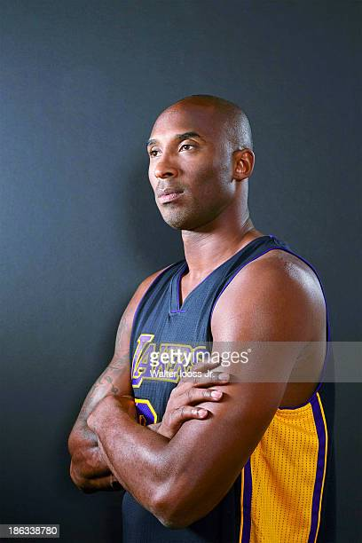Basketball player Kobe Bryant is photographed for Sports Illustrated on October 9 2013 at MGM Grand Hotel Casino in Las Vegas Nevada CREDIT MUST READ...