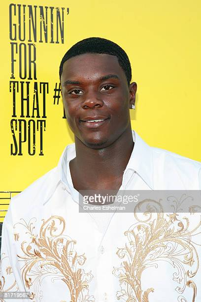 Basketball player Lance Stephenson arrives at the premiere of 'Gunnin' for That Spot' at the Magic Johnson Theatre on June 25 2008 in New York City
