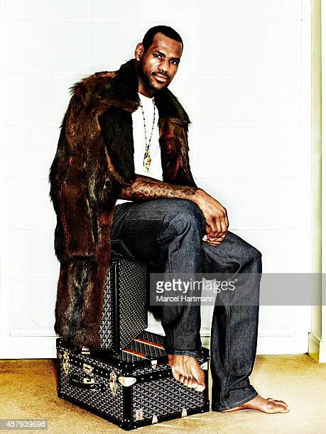 Basketball player LeBron James is photographed for Self Assignment on August 22 2009 in Paris France