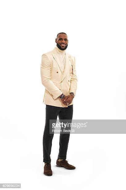 Basketball player Lebron James is photographed for Sports Illustrated on December 3 2016 at the ShangriLa Hotel in Toronto Canada James is SI's...