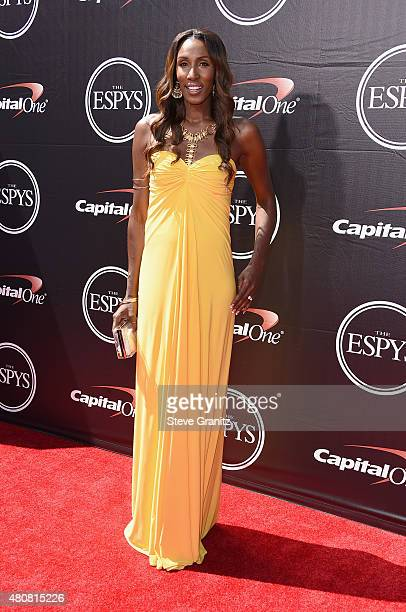 Basketball player Lisa Leslie attends The 2015 ESPYS at Microsoft Theater on July 15 2015 in Los Angeles California