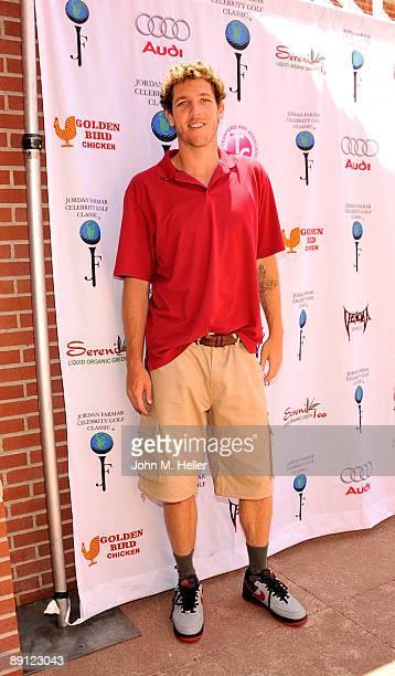 Basketball player Luke Walton attends the Inaugural Jordan Farmar Foundation Celebrity Golf Classic at Sherwood Country Club on July 20 2009 in...