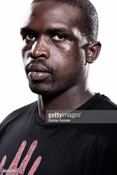 Basketball player Luol Deng is photographed on July 27 2011 in London England