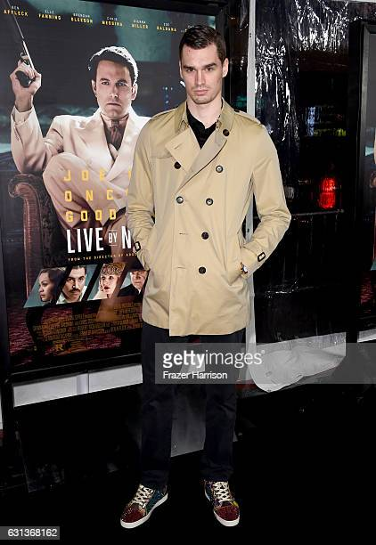 Basketball player Mario Hezonja attends the premiere of Warner Bros Pictures' 'Live By Night' at TCL Chinese Theatre on January 9 2017 in Hollywood...