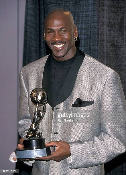Basketball player Michael Jordan attends the Eighth Annual ESPY Awards on February 14 2000 at the MGM Grand Garden Arena in Las Vegas Nevada