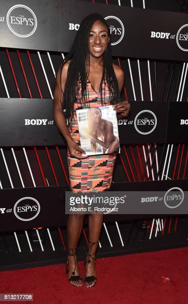 Basketball player Nneka Ogwumike attends the BODY at The EPYS PreParty at Avalon Hollywood on July 11 2017 in Los Angeles California