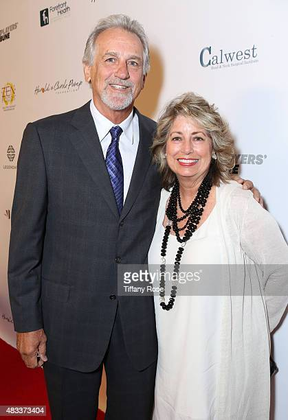 Basketball player Paul Westphal and Cindy Westphal attend the 15th annual Harold Carole Pump Foundation gala at the Hyatt Regency Century Plaza on...