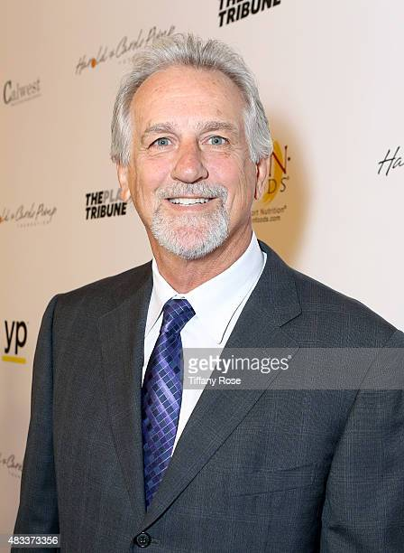 Basketball player Paul Westphal attends the 15th annual Harold Carole Pump Foundation gala at the Hyatt Regency Century Plaza on August 7 2015 in...