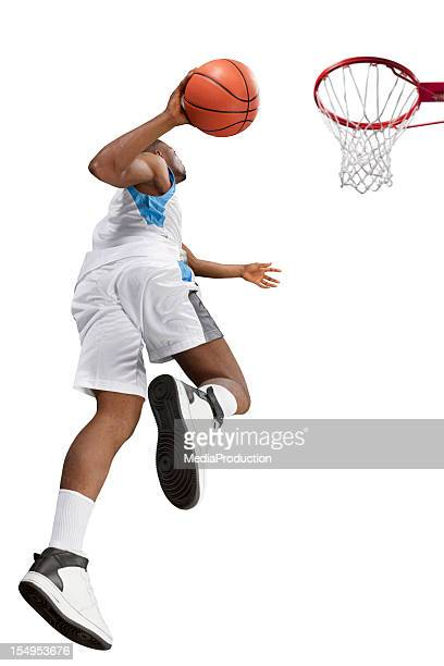 basketball player - studio shot stockfoto's en -beelden