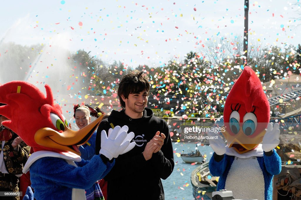 Basketball Player Ricky Rubio Attends 'Portaventura' New Season Opening