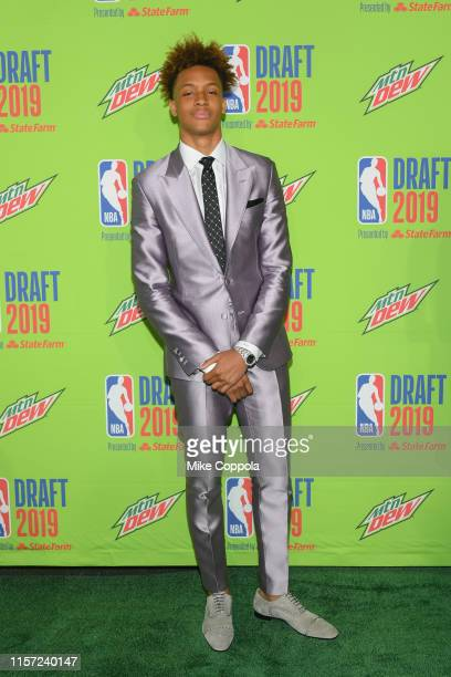 Basketball player Romeo Langford attends the 2019 NBA Draft at Barclays Center on June 20 2019 in New York City