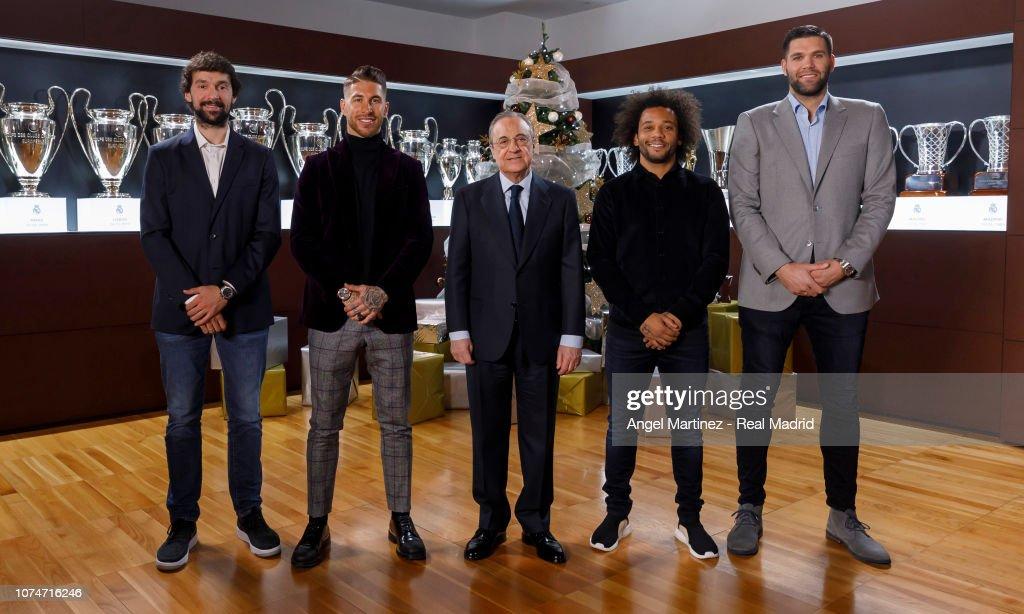 ESP: Real Madrid Christmas Portrait Session 2018