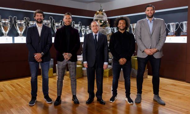 ESP: Real Madrid Christmas Portrait Session 2018