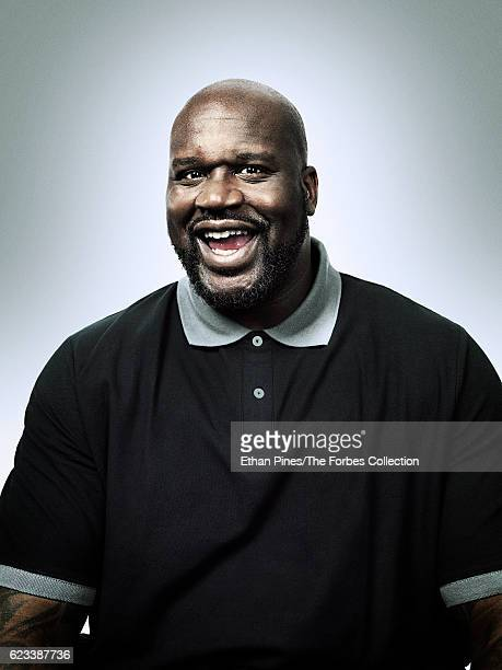 Basketball player Shaquille ONeal is photographed for Forbes Magazine on January 27 2016 in Beverly Hills California CREDIT MUST READ Ethan Pines/The...