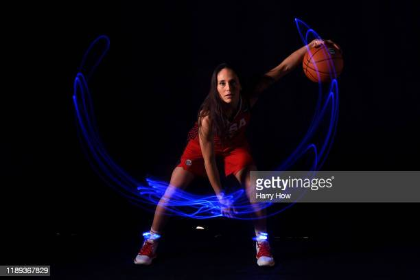Basketball player Sue Bird poses for a portrait during the Team USA Tokyo 2020 Olympics shoot on November 21 2019 in West Hollywood California