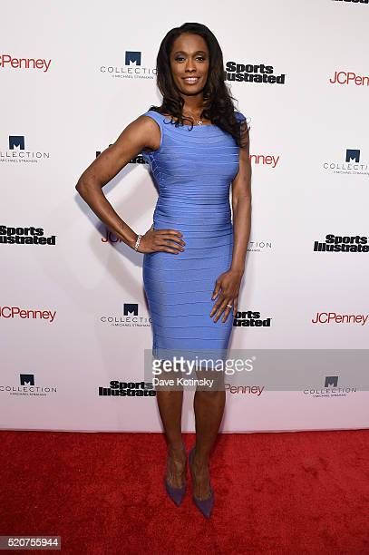 Basketball player Swin Cash attends Sports Illustrated's Fashionable 50 event at Vandal on April 12 2016 in New York City