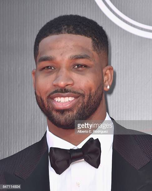 Basketball player Tristan Thompson attends the 2016 ESPYS at Microsoft Theater on July 13, 2016 in Los Angeles, California.
