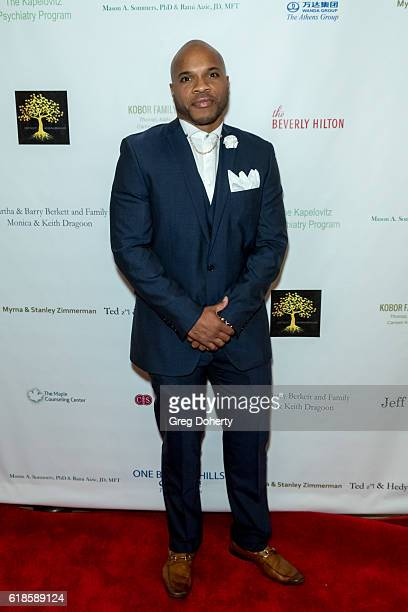 Basketball Player Vernon Gaines arrives for the 42nd Annual Maple Ball at The Montage Hotel on October 26 2016 in Beverly Hills California
